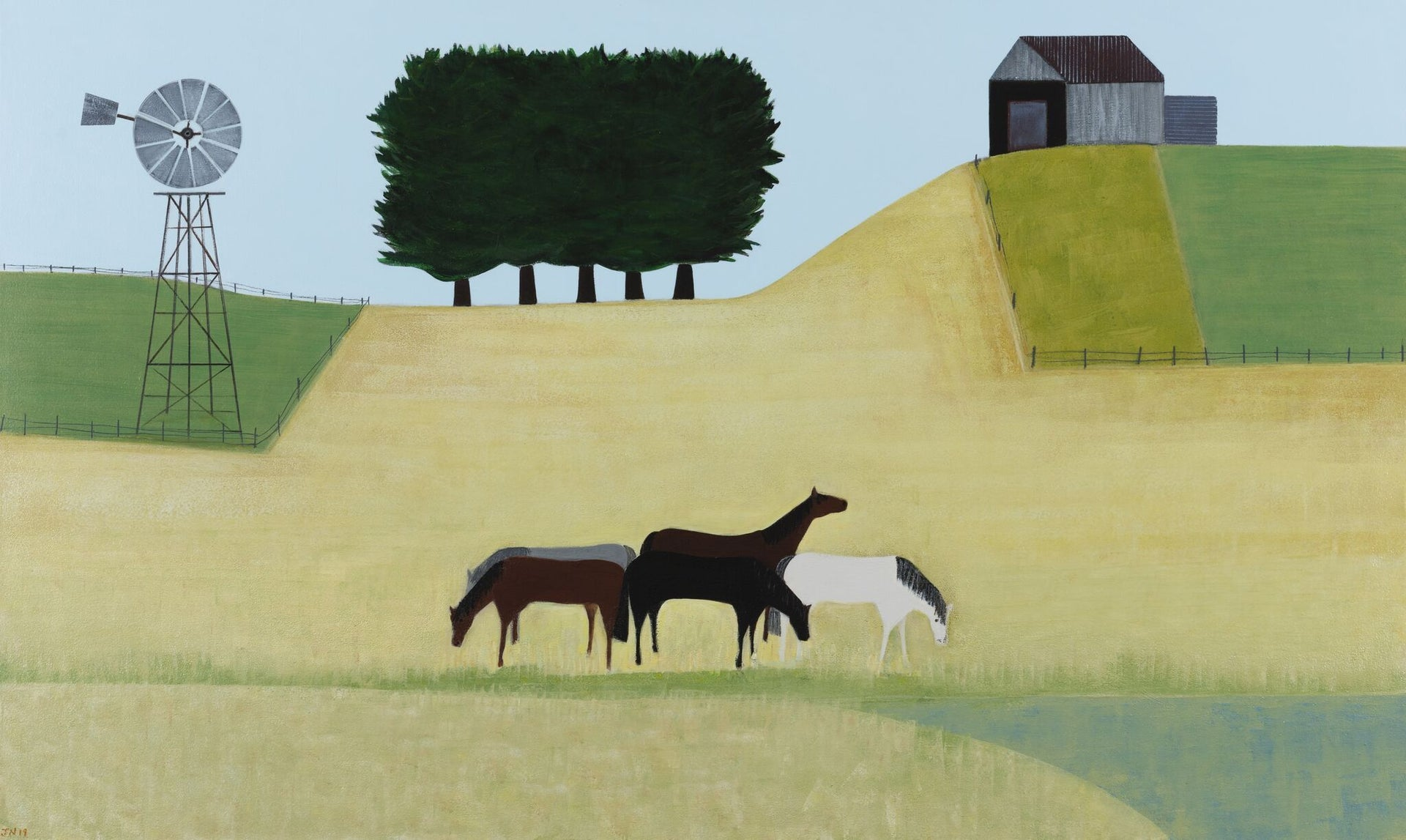 SOLD Jill Noble, The Equestrians on Deep Creek, 2019