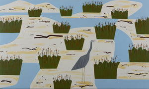 Jill Noble, Wetlands for a Heron, 2019