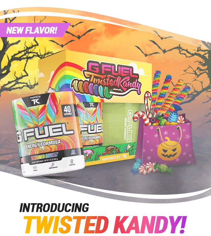 Introducing Twisted Kandy G FUEL!
