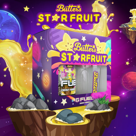 G FUEL Butters' Star Fruit collectors box