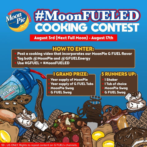 G FUEL and MoonPie #MoonFUELED Cooking Contest