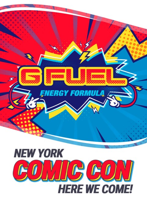 Visit G FUEL at New York Comic Con 2019 booth 630
