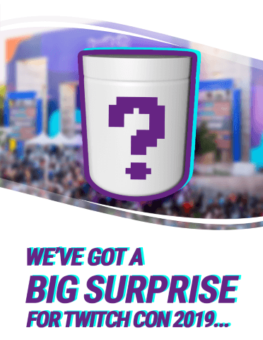 G FUEL has a big surprise for TwitchCon 2019