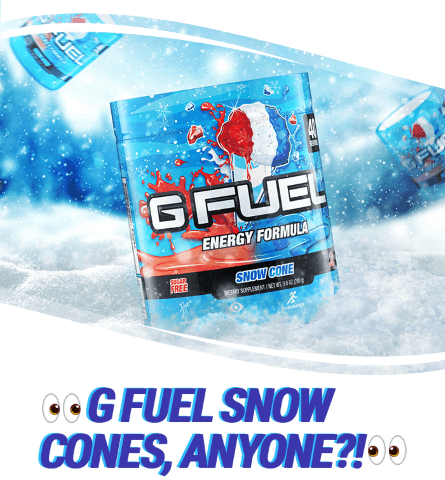 Snow Cone G FUEL tub