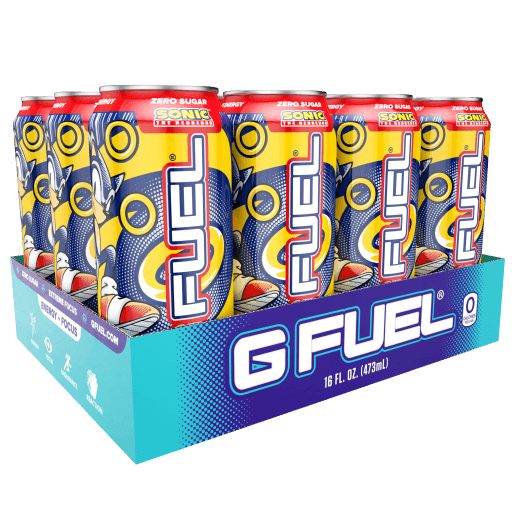 G FUEL| Sonic's Peach Rings Cans RTD 12 Pack RTD-PR12