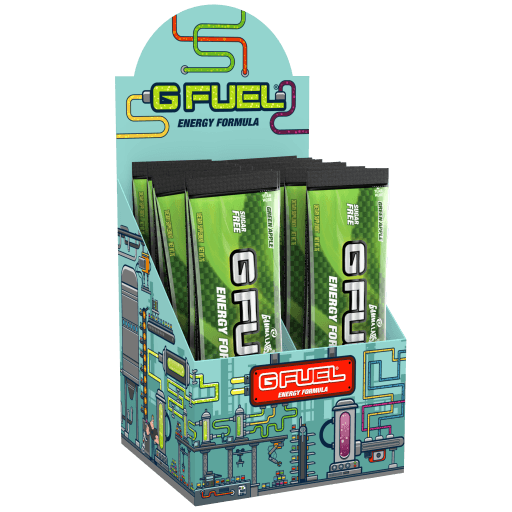G FUEL| Green Apple Box