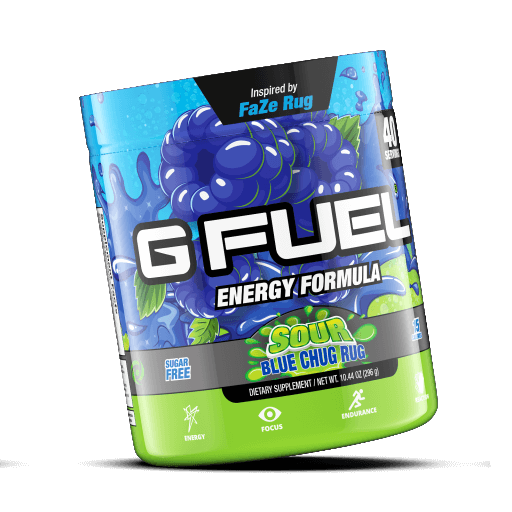 G FUEL| Sour Blue Chug Rug Tub