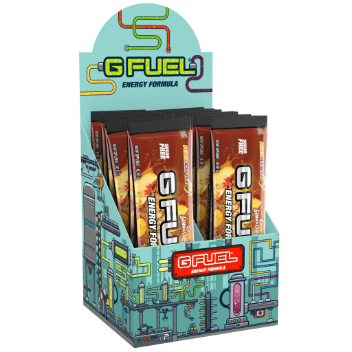 G FUEL Energy Crystals - Green Apple (6 Pack)