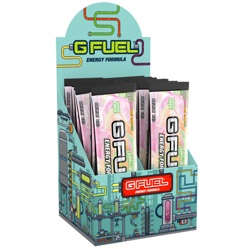 G FUEL Energy Formula | Rainbow Sherbet | 20 Pack Box