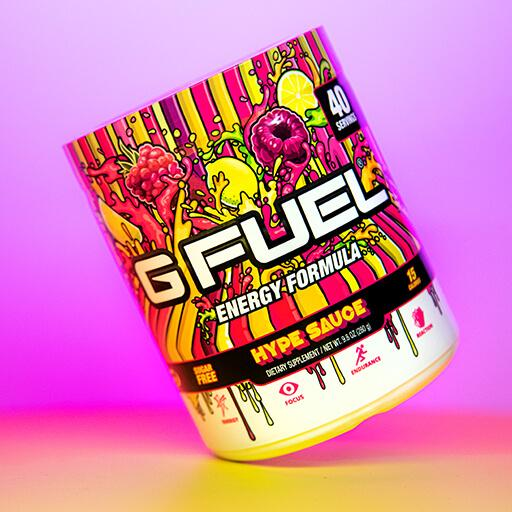 G FUEL| HYPE SAUCE (Raspberry Lemonade) Tub