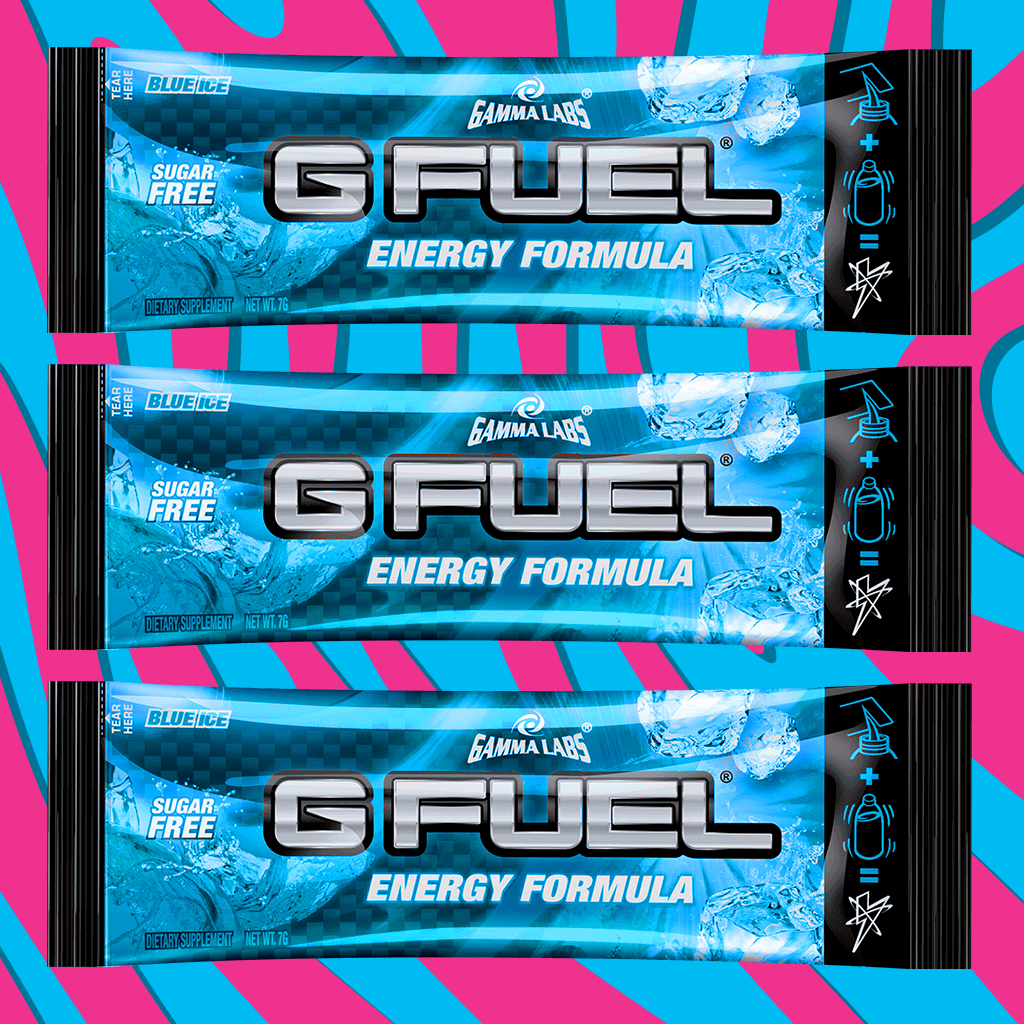 "G FUEL 3 Pack - ""Boysenberry"" (Blue Ice)"