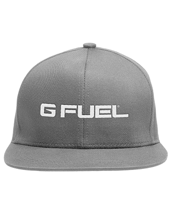 Snapback Hat - G FUEL Energy Logo (Concrete Gray)