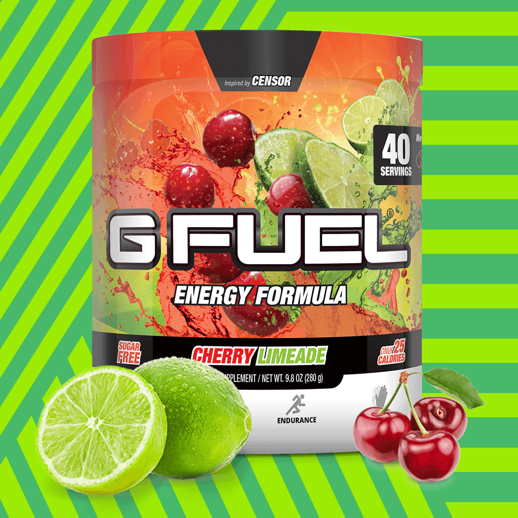 "G FUEL Tub - ""Slime-Ade"" (Cherry Limeade)"