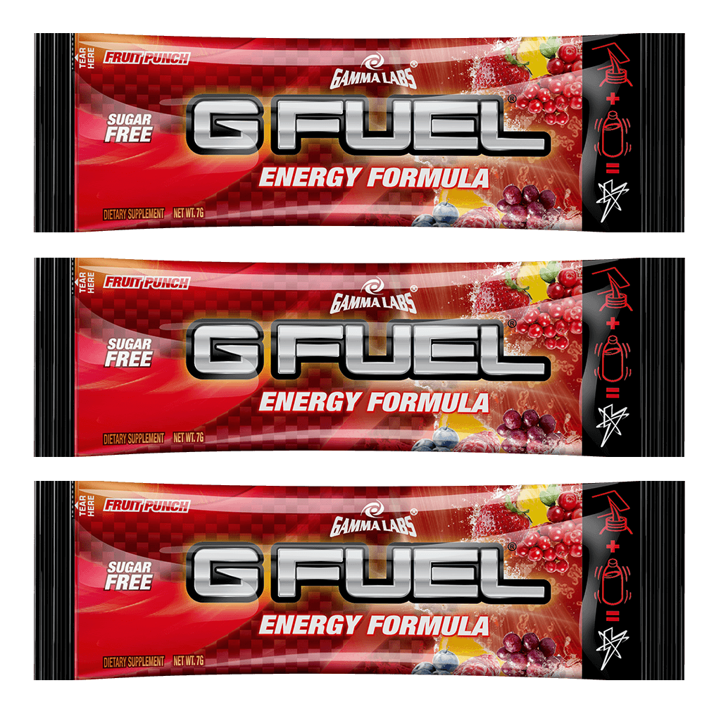 G FUEL| Fruit Punch (3 Pack) Pack
