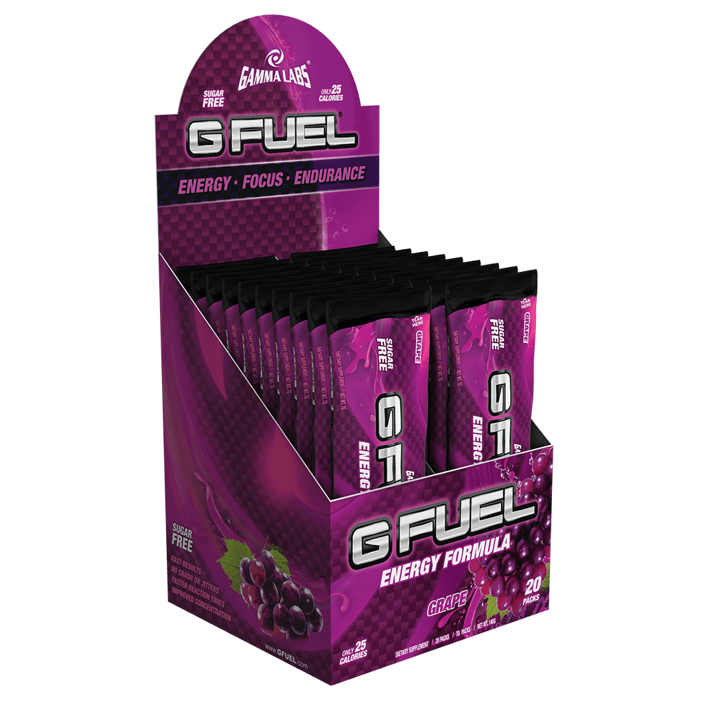 "G FUEL Box - ""Purple Potion"" (Grape)"