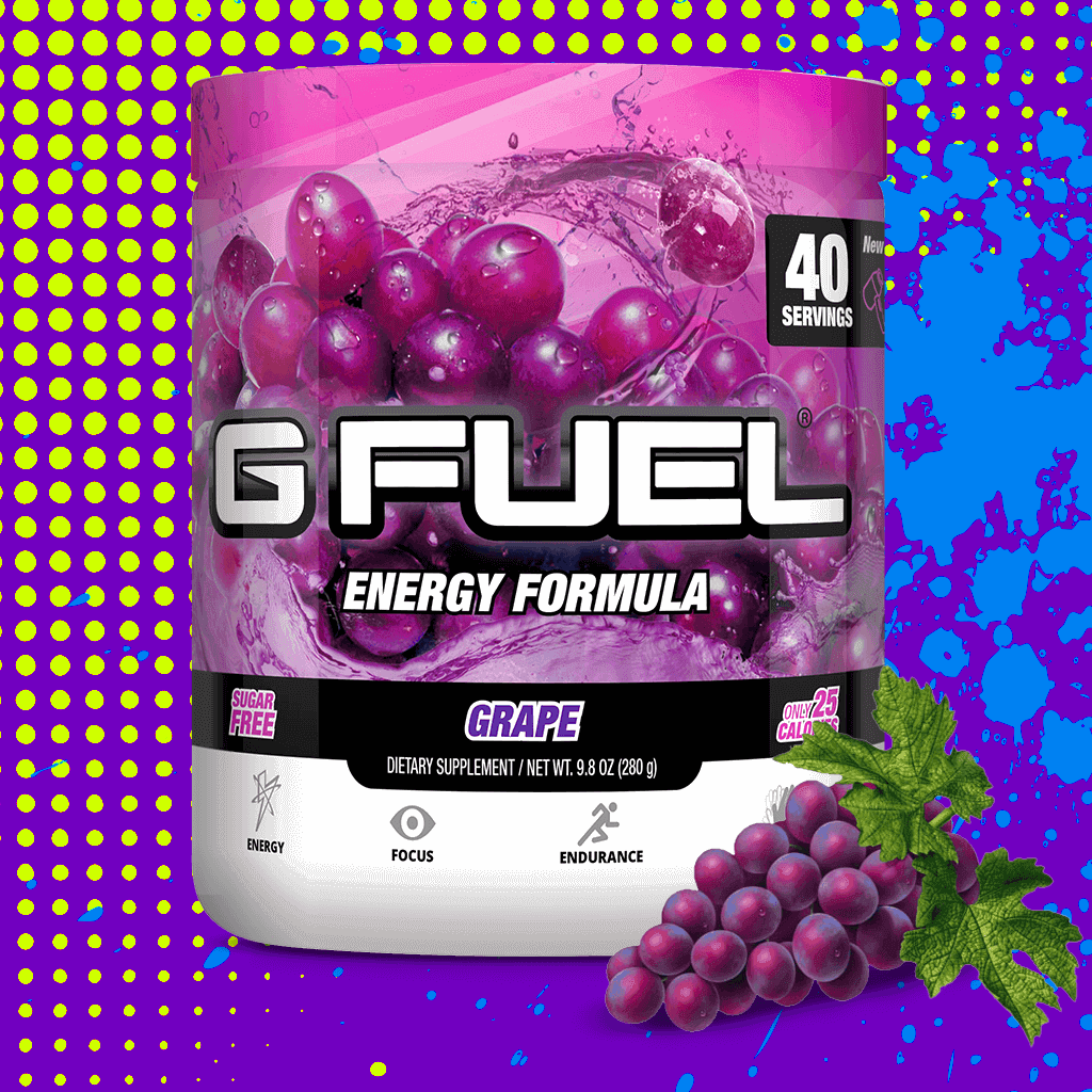 "G FUEL Tub - ""Purple Potion"" (Grape)"