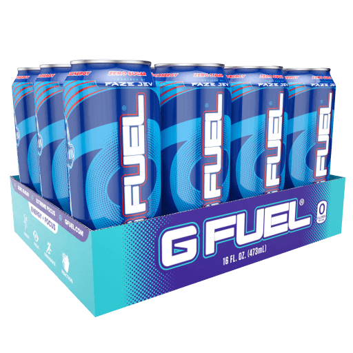 G FUEL| Ragin' Gummy Fish Cans RTD 12 Pack RTD-RG12