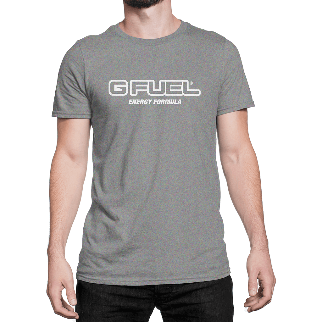 T-Shirt - G FUEL Energy Formula Logo (Heather Gray)