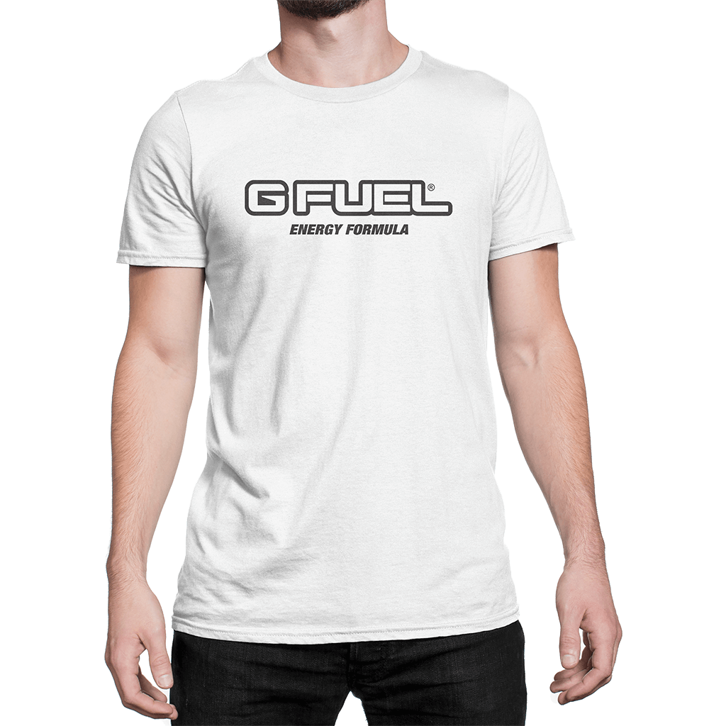T-Shirt - G FUEL Energy Formula Logo (Champion White)