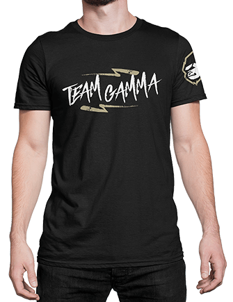T-Shirt - OG Team Gamma (Black)
