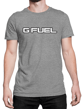 T-Shirt - G FUEL Logo (Gray)