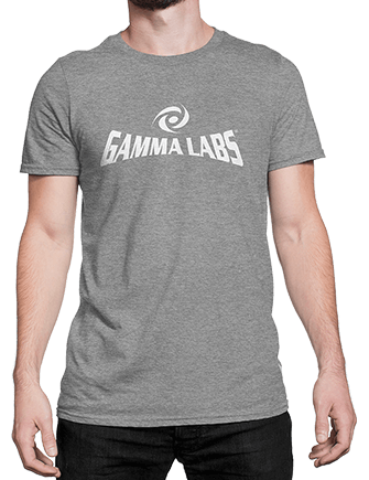 T-Shirt - Gamma Labs Logo (Gray)