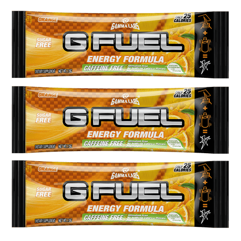 Orange (Caffeine-Free) 3 Pack