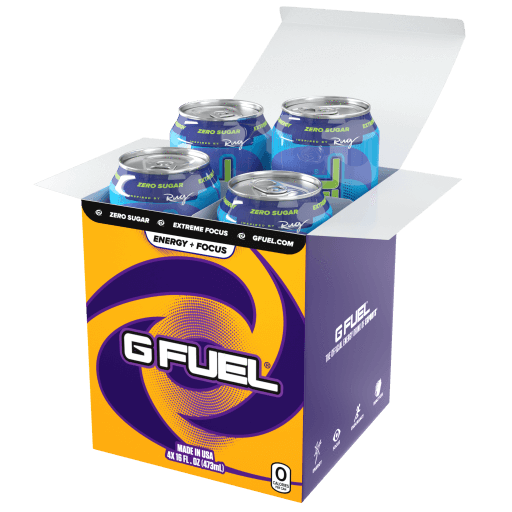 Sour Blue Chug Rug Bundle (Tub + Cans 4 Pack)