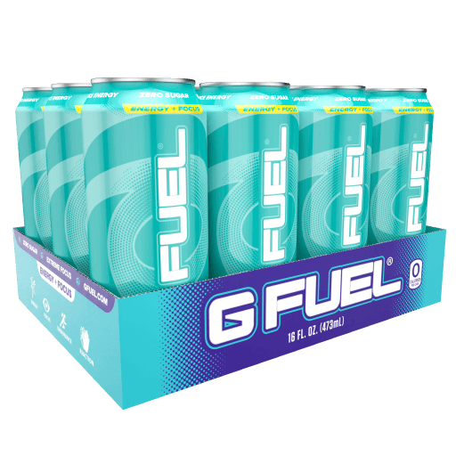 G FUEL| Tropical Rain Cans RTD 12 Pack RTD-TR12