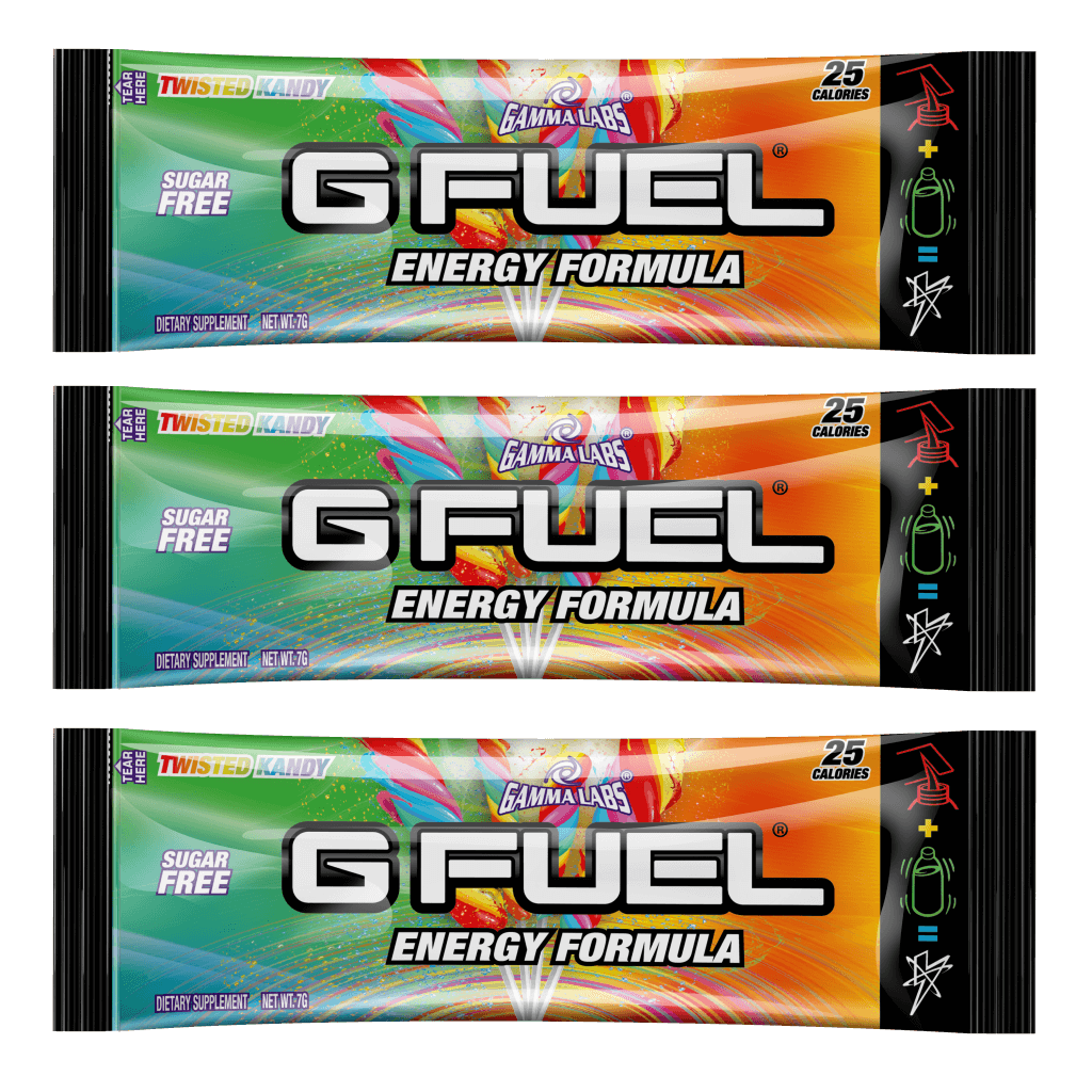 G FUEL| Twisted Kandy (3 Pack) Pack