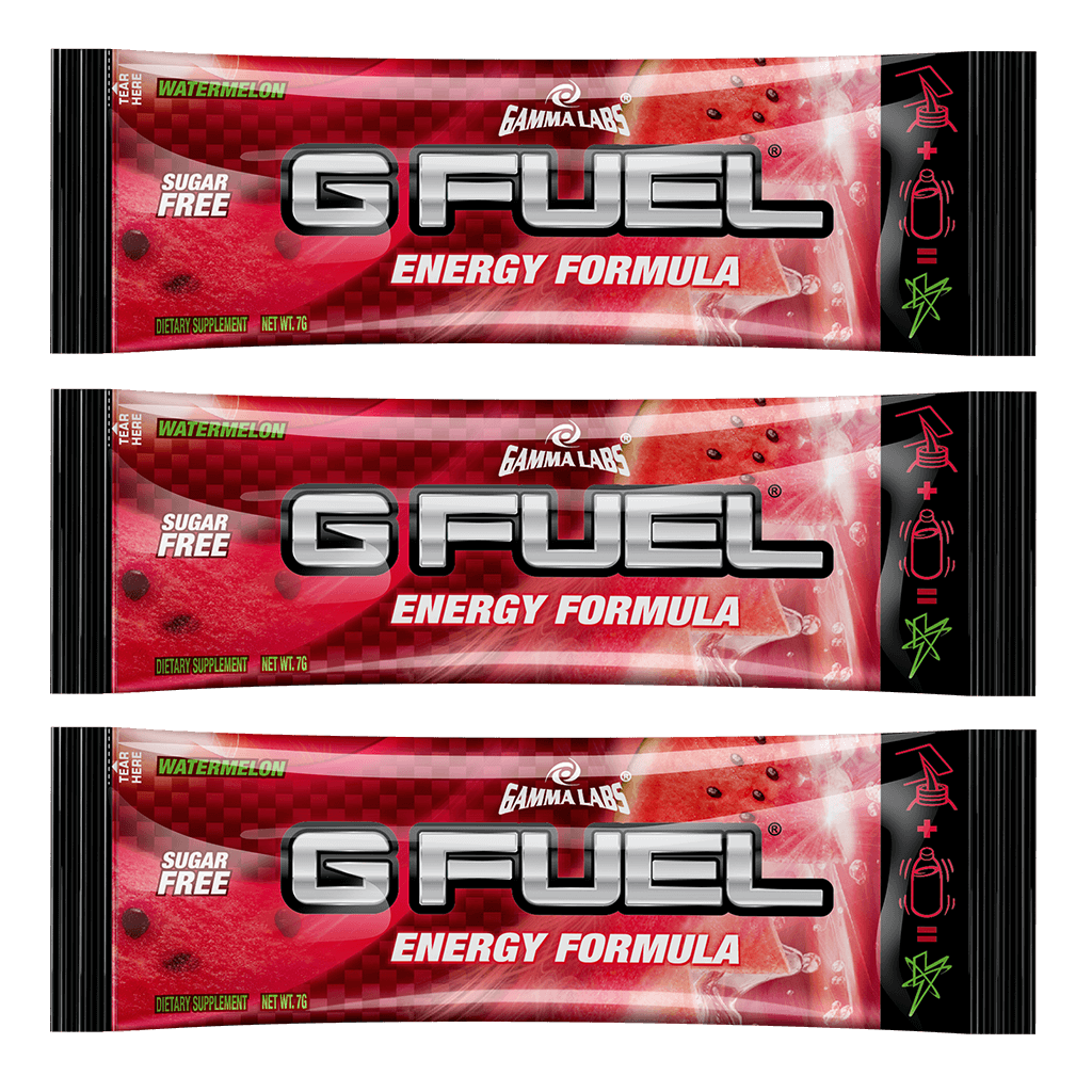 G FUEL| Watermelon (3 Pack) Pack