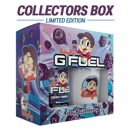 G FUEL| Bobby Boysenberry Collectors Box Tub (Collectors Box)