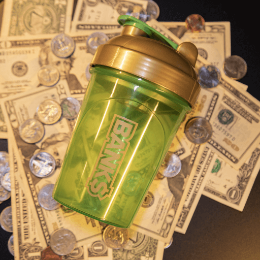 FaZe Bank$ Starter Kit (Shaker Cup + 7 Pack)