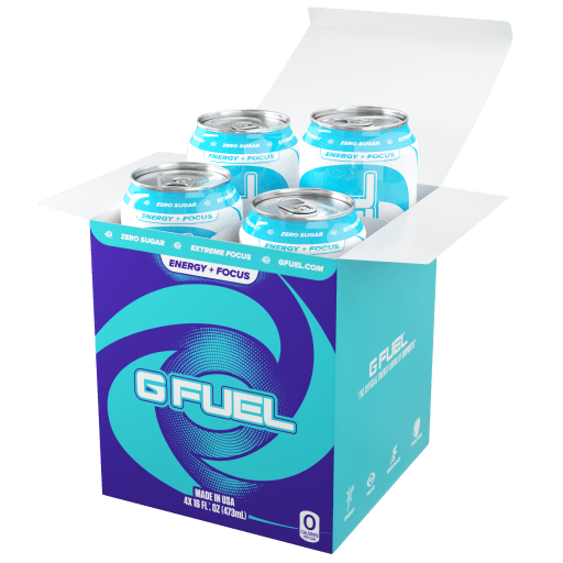 Blue Ice Cans (4 Pack)
