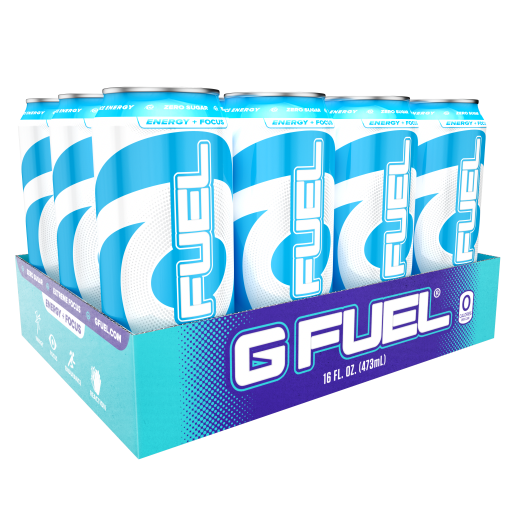 G FUEL| Blue Ice Cans RTD 12 Pack RTD-B12