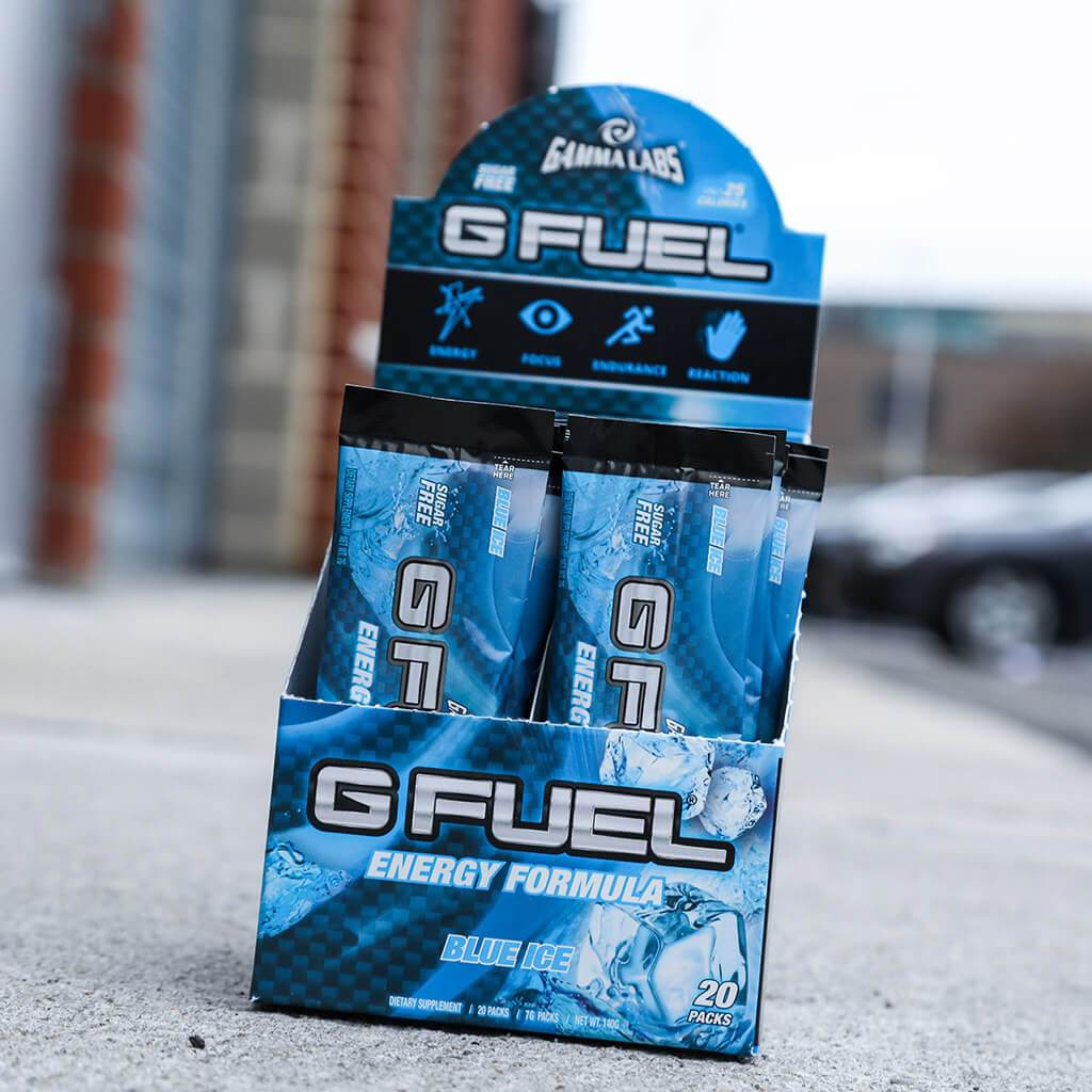 "G FUEL Box - ""Boysenberry"" (Blue Ice)"