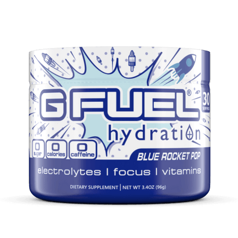 G FUEL Hydration - Blue Rocket Pop Tub (30 servings)