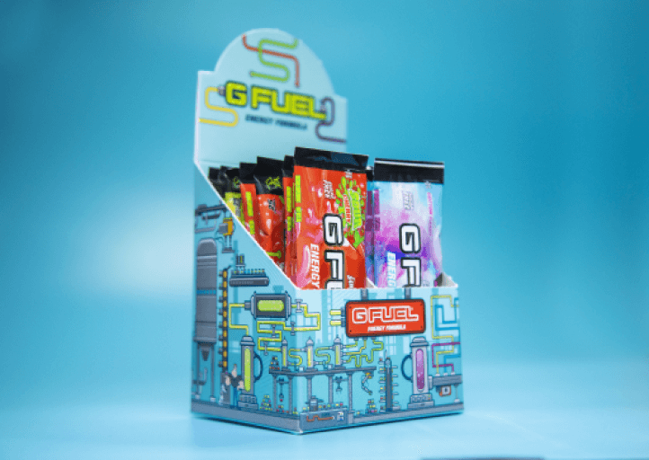 G FUEL| Premium Pack (Most Popular Flavors) Box