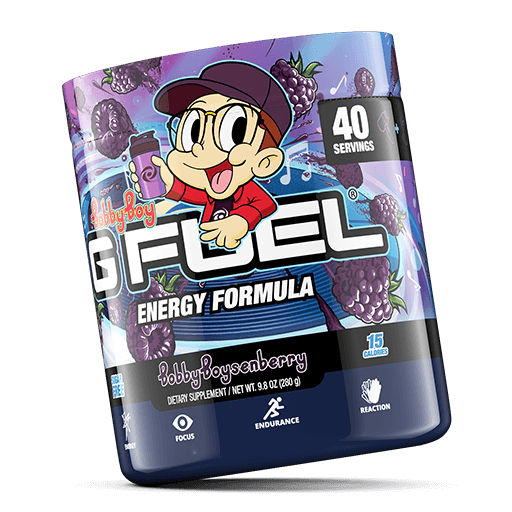 G FUEL| Bobby Boysenberry Tub