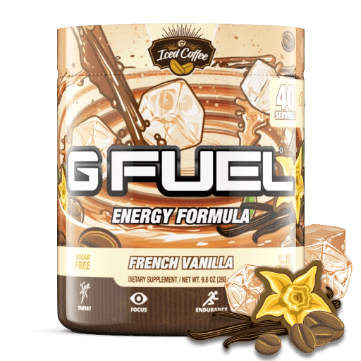 G FUEL| French Vanilla Iced Coffee Tub