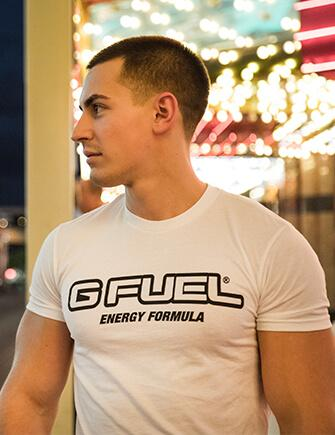 Champion White (G FUEL Logo Shirt)