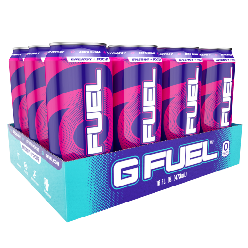 G FUEL| FaZeberry Cans RTD 12 Pack RTD-FZ12