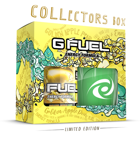Golden Apple Pear Collectors Box (Includes Tub + Shaker Cup)