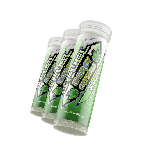 G FUEL| Green Apple (Energy Crystals 3 Pack) Energy Crystals