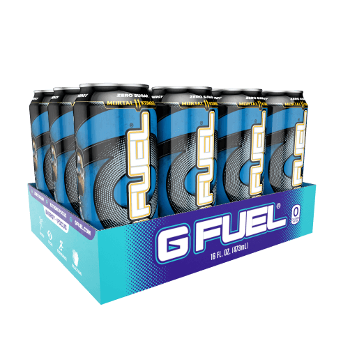 G FUEL| Ice Shatter Cans RTD Variant 12 Pack RTD-IC5