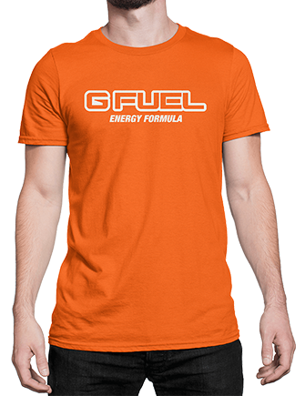 T-Shirt - G FUEL Energy Formula Logo (Nadeshot™ Orange)
