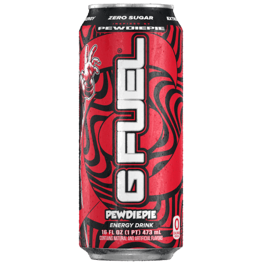 G FUEL| PewDiePie Bundle (Tub + Cans 4 Pack) Bundle (Cans)