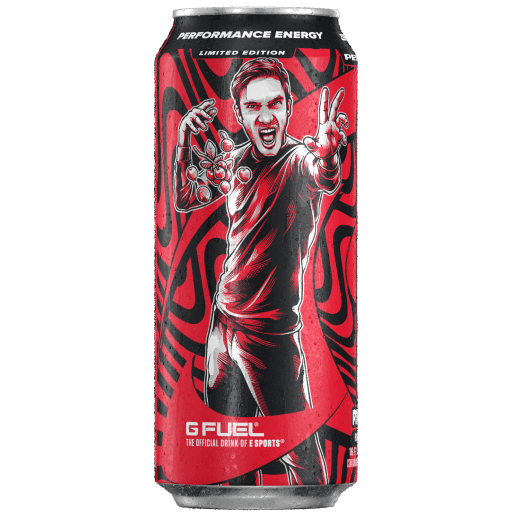 PewDiePie Lingonberry (Cans 12 Pack)