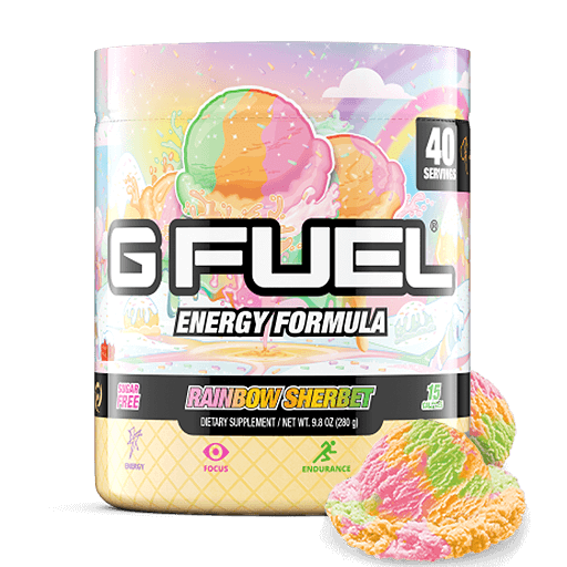 Rainbow Sherbet Bundle (Tub + Cans 4 Pack)