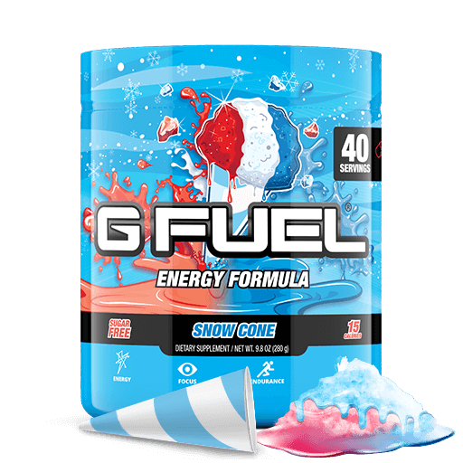 G FUEL| Snow Cone Bundle (Tub + Shaker Cup) Bundle (Tubs)